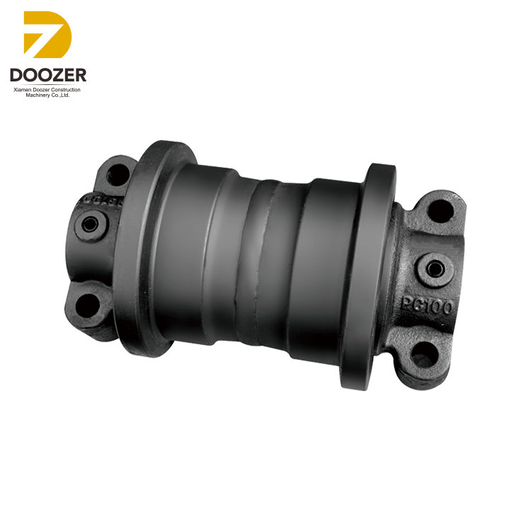 Durable MS110 Excavator Undercarriage Parts Track Roller for Mitsubishi