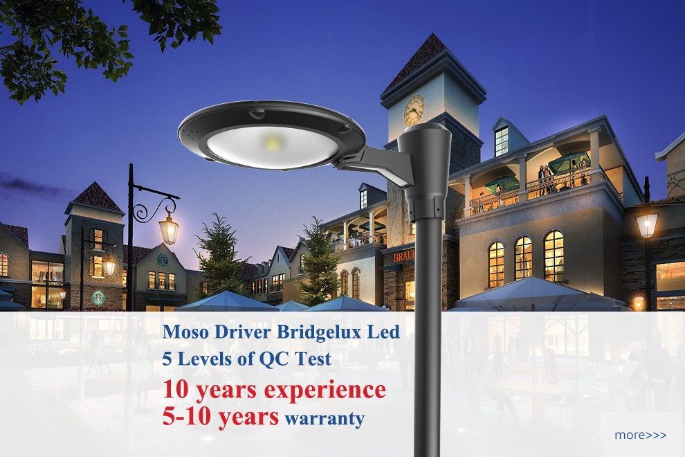 Etl Dlc Outdoor Led Garden Lighting Pole Lights Fixtures