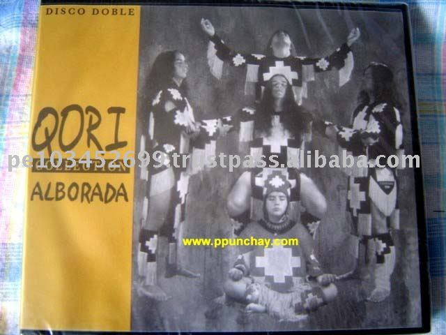 """ Alborada Collection Qory "" Andean nhạc Cd Peru"