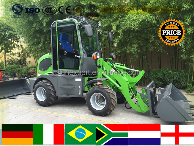 china mini wheel loader with 0.25 cube bucket mini wheel loader for sale