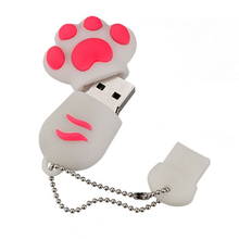 Cat Foot Style 8GB USB Flash Drive Memory Stick U Drive U Disk For PC Notebook