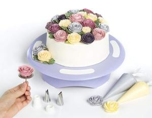 Food quality cake turntable cake decorating suppliers