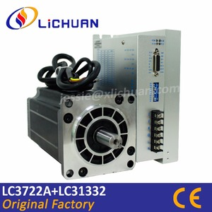 3 Phase 130mm Nema51 stepper motor and driver LC3722A+LC31332 Hybrid Step Motor 28Nm high-power stepper for CNC Milling Lathe