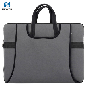 Wholesale cheap eco waterproof insulated custom printed neoprene bag for laptop 17 inches
