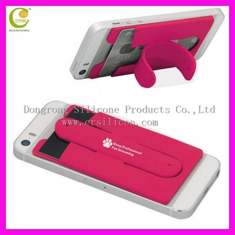 Supply Different Silicone Phone Holder For Iphone/silicone Card ...