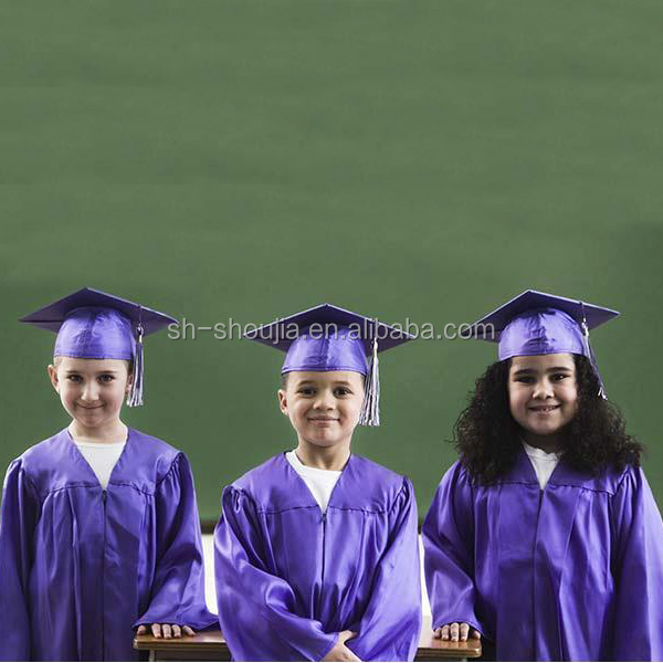 black graduation gown child, children graduation gown ...