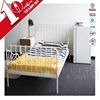 Factory price stainless bedroom furniture cheap used steel bed for children