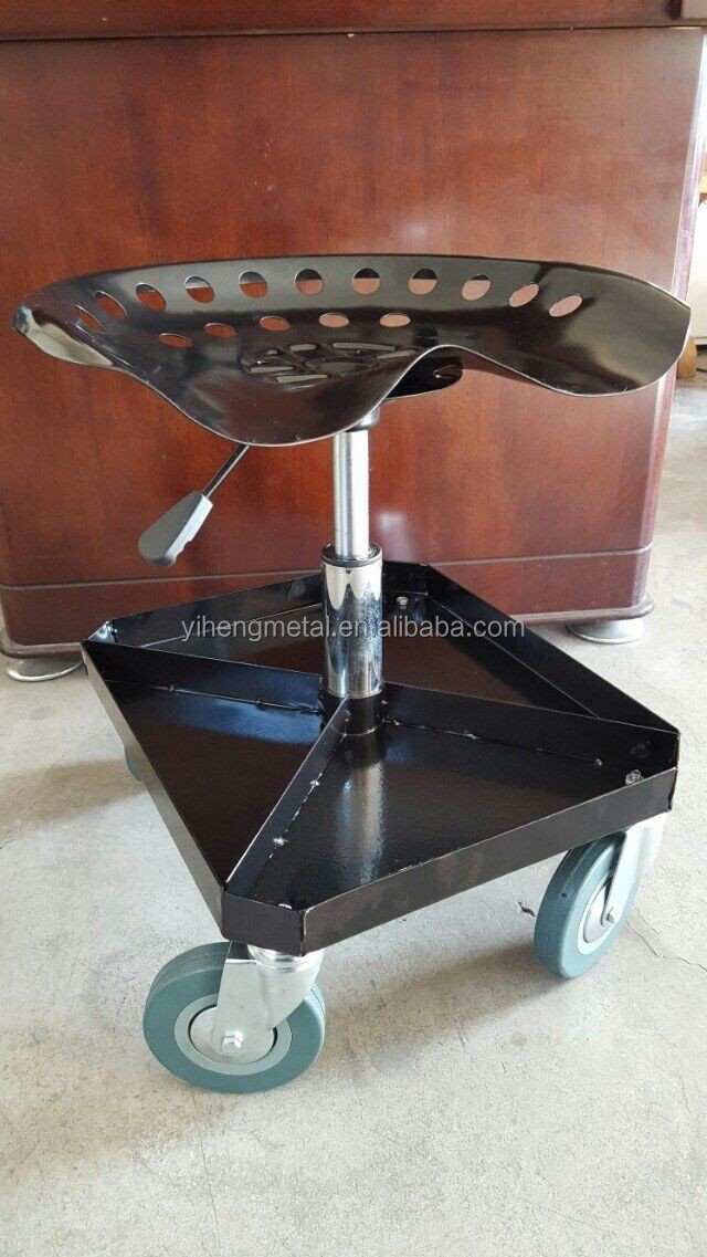 Adjustable rolling garage and shop seat mechanic stool TC4509 & Adjustable Rolling Garage And Shop Seat Mechanic Stool Tc4509 ... islam-shia.org