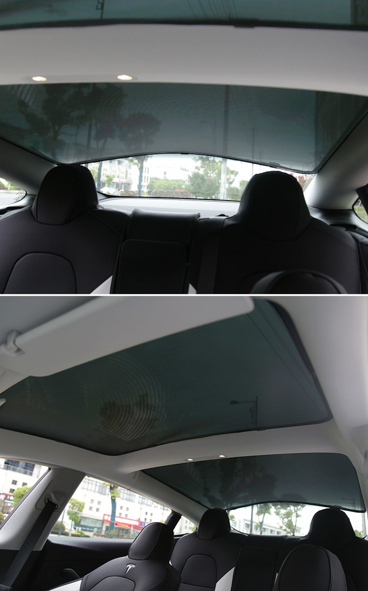 Perfect Fit Tesla Model 3 Sunroof Sunshade