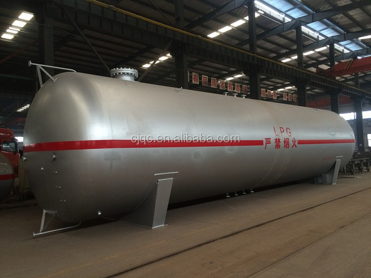 2016 New manufactured 100m3 propane LPG gas tank for gas station in Africa hot selling with high quality