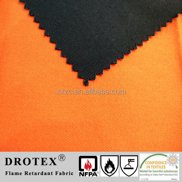 Vat/Reactive Dye 100 Cotton Flame Retardant Fabric Yard