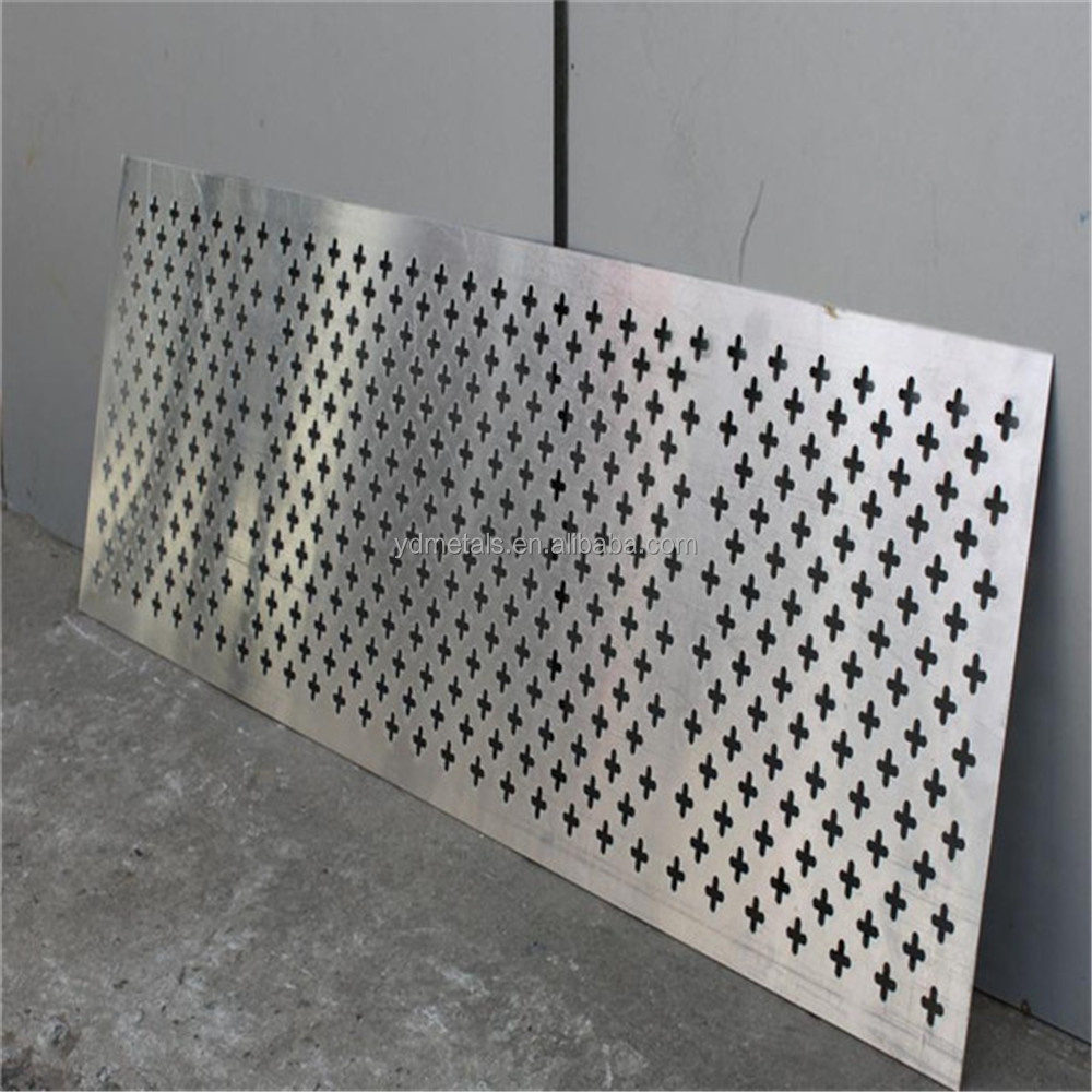 Stainless Steel Perforated Sheet Antiskid Perforated Metal