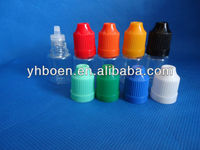 5ml plastic container vials dropper and tamperproof bottle, plastic cap