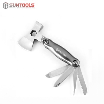 Stainless steel Axe multi tool hammer of aluminum handle hand tools