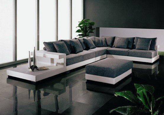 Tejido sof de estilo natuzzi sof seccional conjunto - Sofas natuzzi precios ...