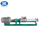 G series stainless steel mono screw pumps with open throat hopper for food industry