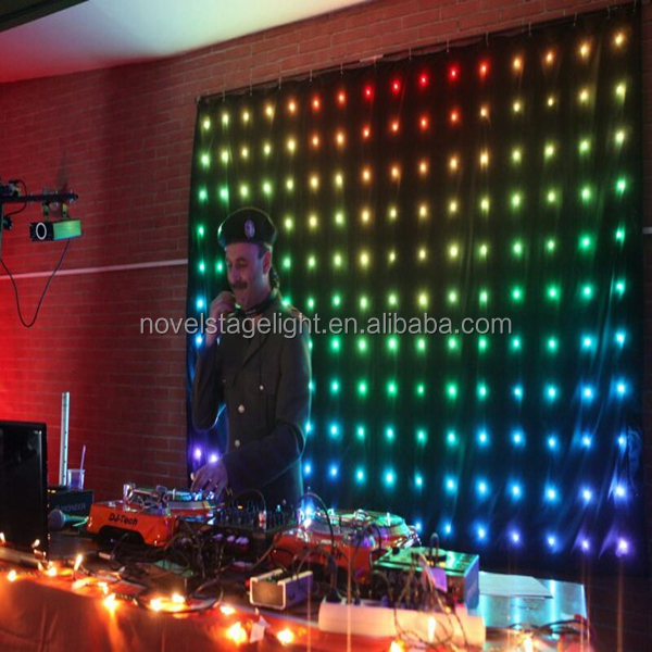 HI-COOL unique christmas lights party wedding decoration led video light