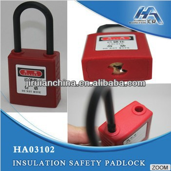Lockout Device, Safety Lockout/Tagouts, All insulated safety padlock