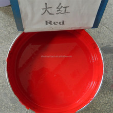 Original Red PVC inks