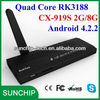 Hot! Quad Core android xbmc mini pc CX-919S Chinese TVs