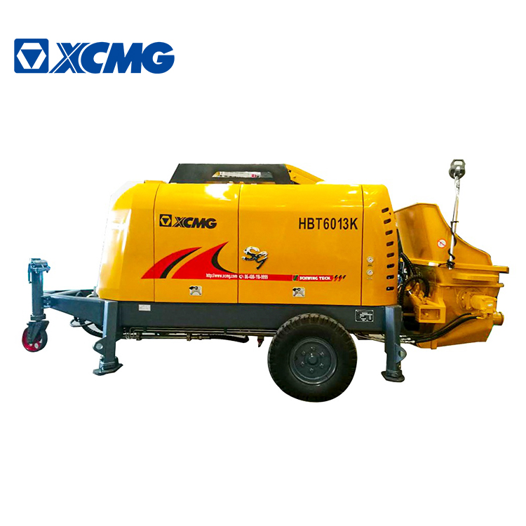 XCMG Offical HBT6013k  concrete trailer pump price forIndonesia