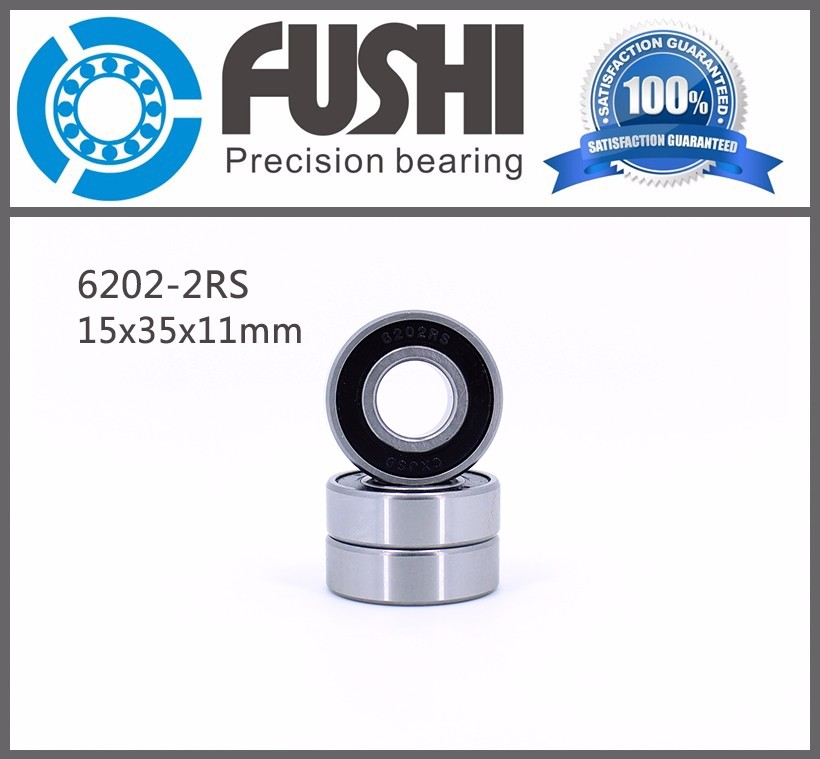 Competitive Price High Precision Shielded Type 15x35x11mm Automotive Bearing/ Bearing 6202/ Deep Groove Ball Bearing