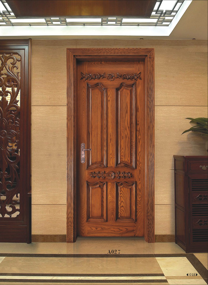 Modern wooden carving door designs for Modern main door design