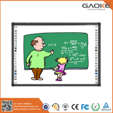 Mobile stand with pen holder virtual interactive whiteboard for school use
