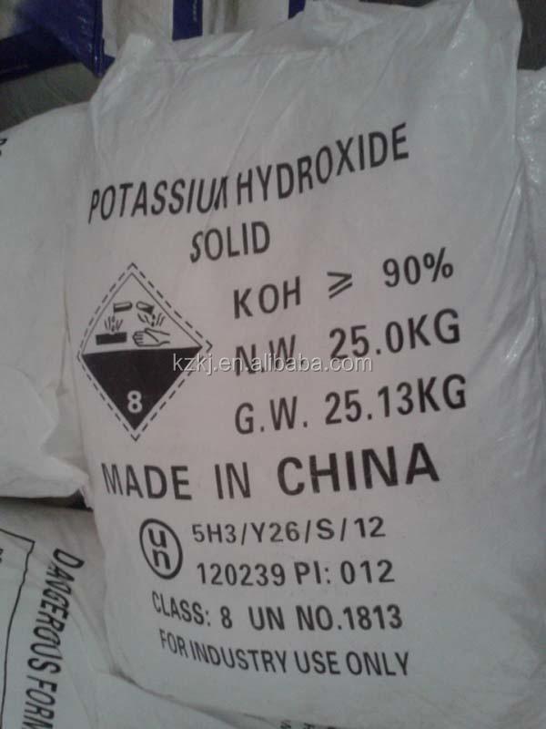 Industrial Drying Electroplating Grade 48% 90% 95% Potassium Hydroxide Koh  Flake Pearls Liquid - Buy 48% 90% Potassium Hydroxide Koh Flake Liquid