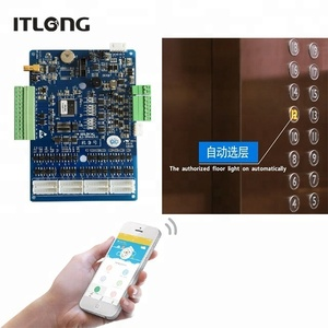 Building Management Elevator Controller RFID Bluetooth Access Control System
