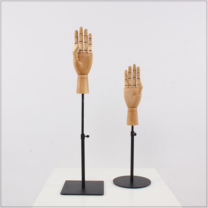 Hölzerne Mannequin Skulptur übergibt Männchen männliche Rechte Hände Puppen & Zubehör