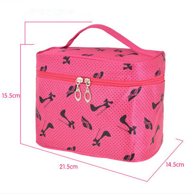 5 Colors Brand Cosmetic Bags Women Make Up Organizer Bag Casual Travel Bag Multi Functional Storage Box In Bags Makeup Handbag
