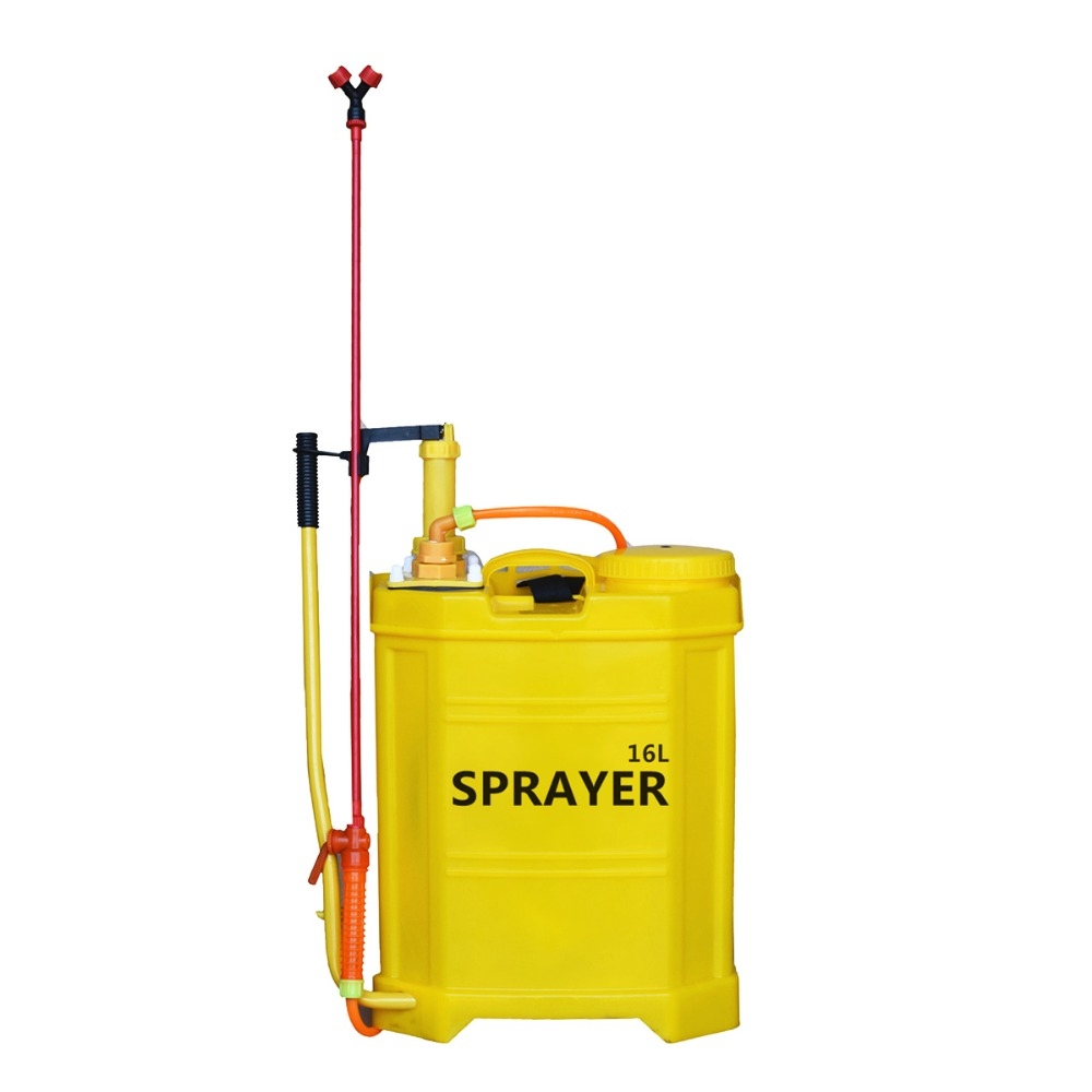16L Agriculture manual spray machine hand plastic knapsack sprayer