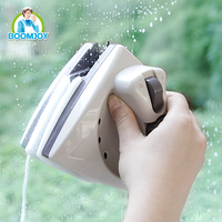 BOOMJOY super clean household Magnetic window cleaner double faced window scraper