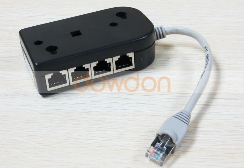 8 ports ethernet splitter hub buy isdn splitter rj45 adapter 8 ports splitter product on - Ethernet cable hub 4 ports ...
