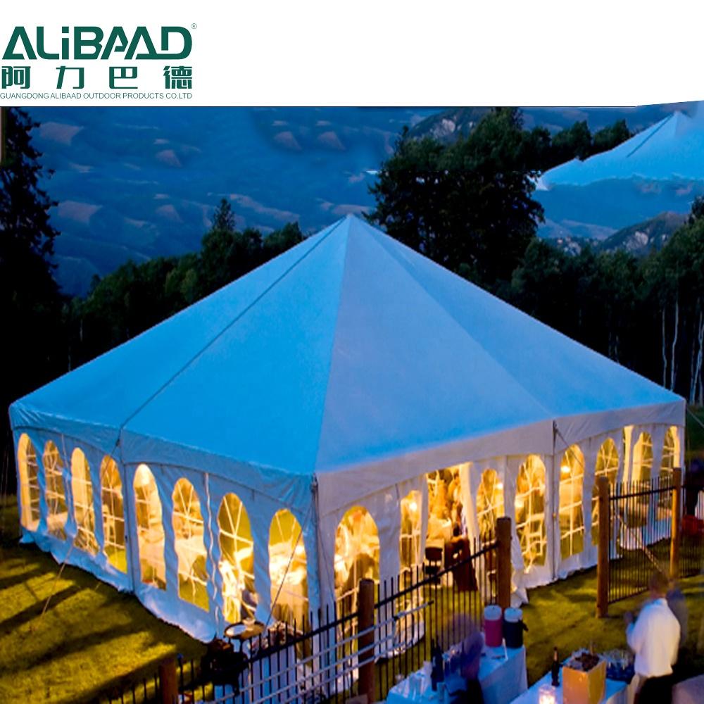PVC big hexagon pagoda party tent parts 10x10 for rental