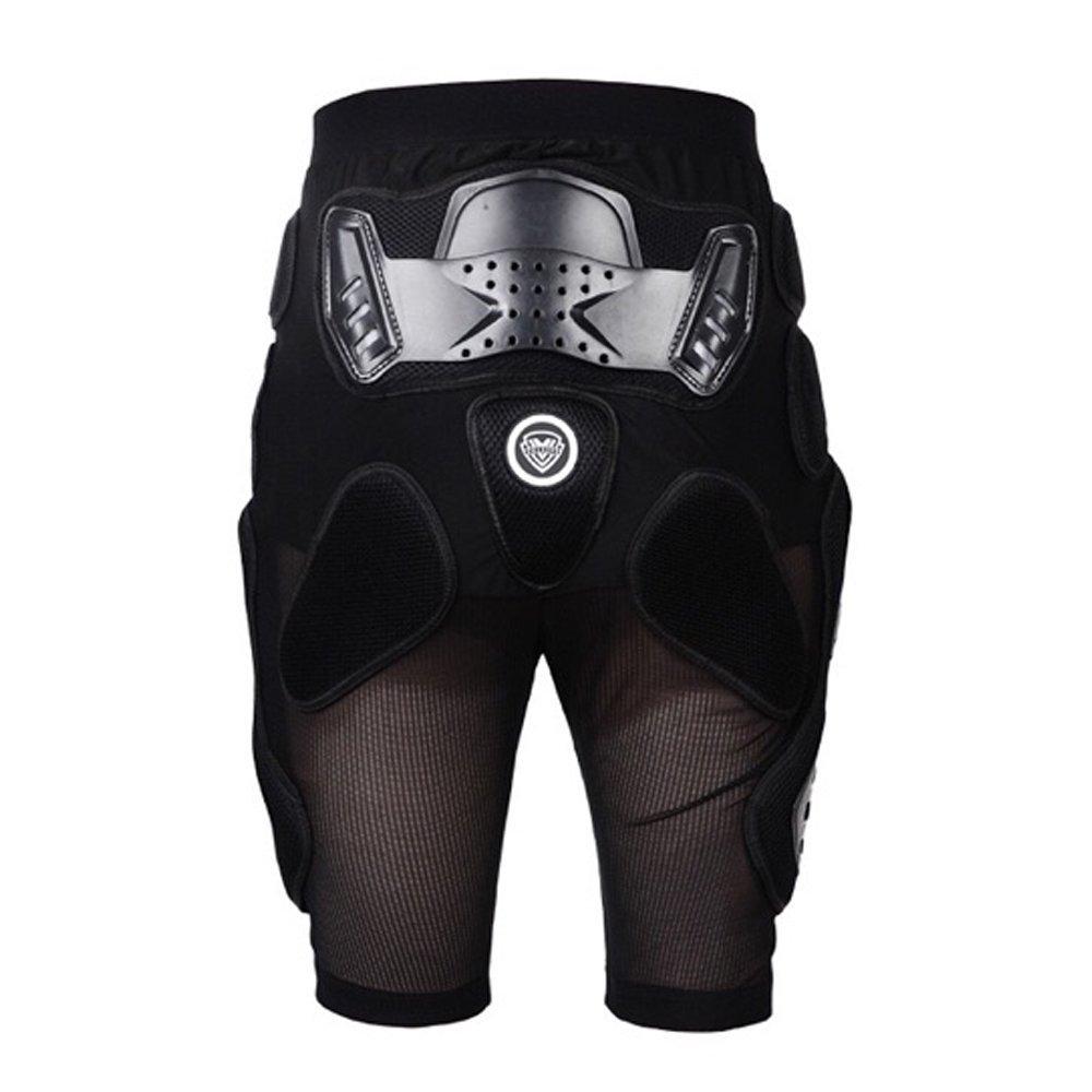 SOGAR Motorcycles Roller Skating Protection Hip EVA Paded Short Pants Protective Gear,5 Sizes