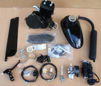 top quality 49cc 50cc 66cc 80cc gasoline engine kit for bicycle