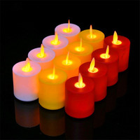2019 Cheap woman fashion electronic candle custom logo Christmas Led candle