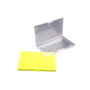 cheap plastic 100% recycled storage transparent plastic box For electronic components
