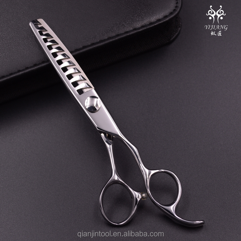 baber scissors with high quality hair thinning scissor with nine teeth