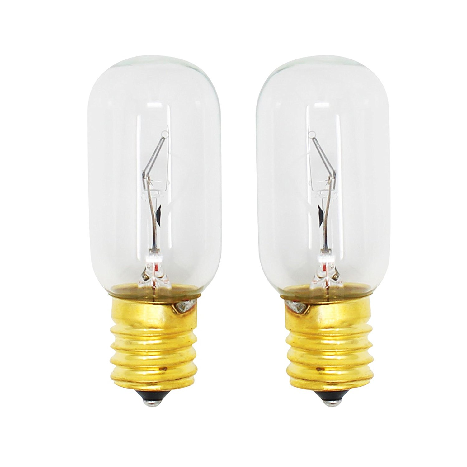 2-Pack Replacement Light Bulb for LG 1266875 Microwave - Compatible LG 6912W1Z004B Light Bulb