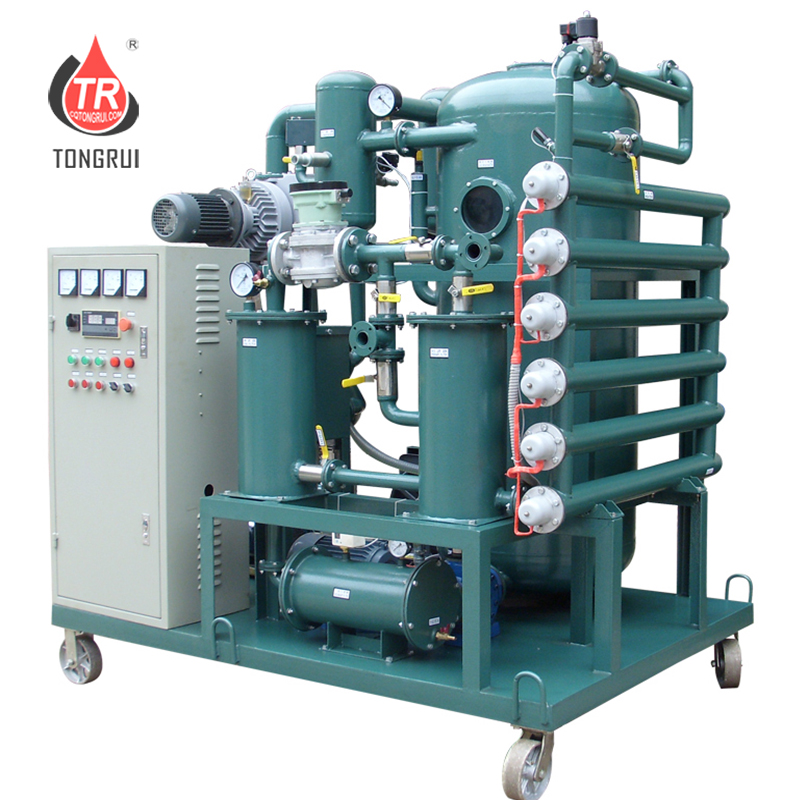 ZJA Double- stage Vacuum Dielectric Oil Purifier/Switch oil Purifier Used Oil Recycling plant