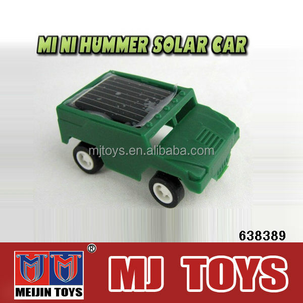 Mini plastic solar power toy car wholesale