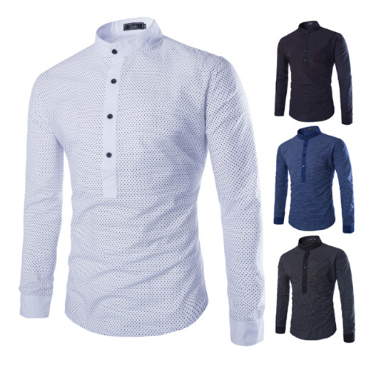 Famous Brand Hot Sale Men'S Shirts Mens Long Sleeves Casual Designer Sociais Outdoor Shirts Camisa Hombre Cheap Clothes China