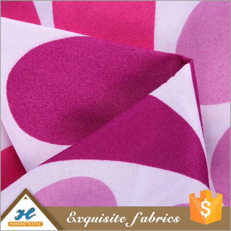 China Wholesale 100% Polyester Elegant Design Pigment cotton printed fabrics thailand