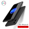 New Arrival! 360 Degree Full Cover Phone Case with Tempered Glass Screen Protector for iPhone 8 X plus