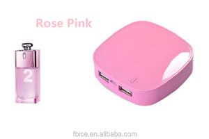 moonshine stone power bank emergency charger pink power bank USB Universal Portable Power Bank