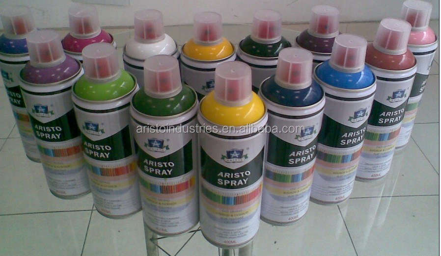 Non Toxic EcoFriendly Artist Aerosol Spray Paint For Wood  Plastic