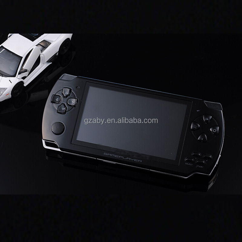 4.3 Polegada PMP Handheld Game Player Com 8 GB MP3 MP5 Vídeo FM Camera TV OUT Multimedia Player Portátil Crianças Jogo Console